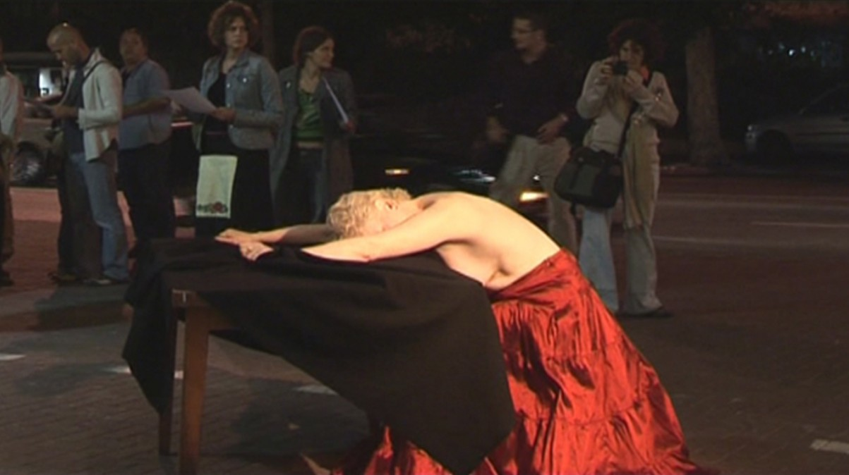 Tell me the Truth, 2005, Performance , Helena Rubinstein Pavilion, Tel Aviv