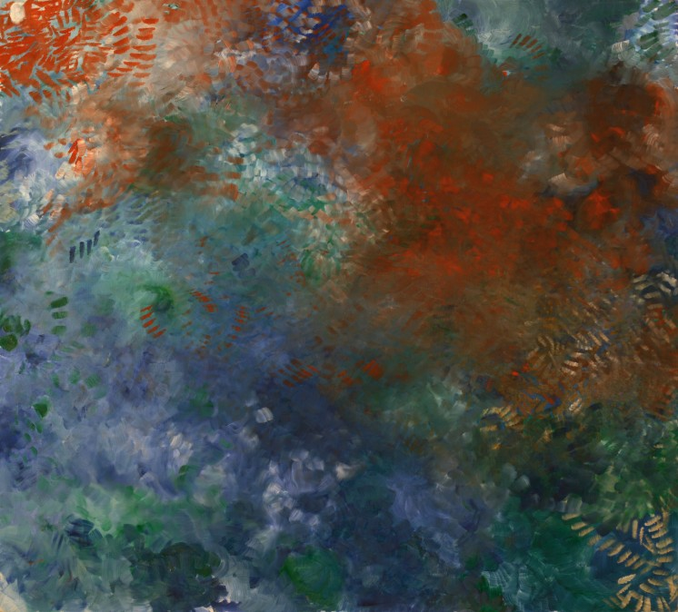 And In My Honor She Wished For…, 1992, oil on canvas, 145/162 cm