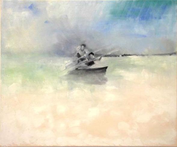 Menachem's Sea 2, 2012, 65/57 cm