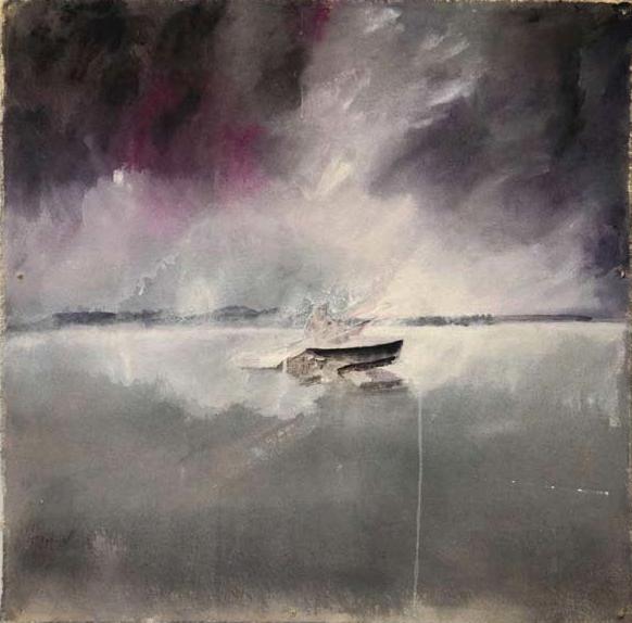 Menachem's Sea 3, 2012, 65/57 cm