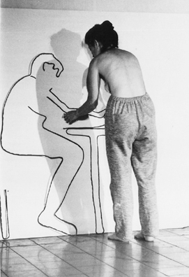 Stains Performance, 1983, Performance , Tel Aviv Museum of the Arts