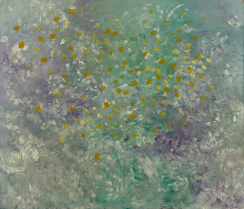 Rochel, My Grandmother, 1991, oil on canvas, 135/115